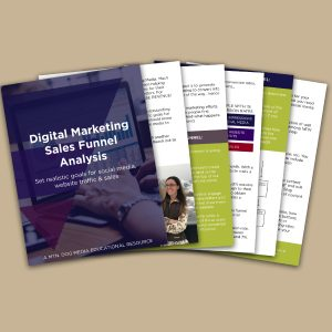 digital marketing sales funnal analysis workbook cover