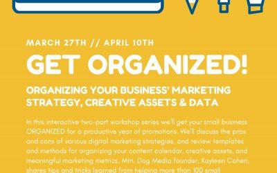 Get Organized Workshop